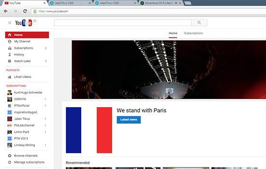 Isp Kuningan Mentari - Google Pray For Paris