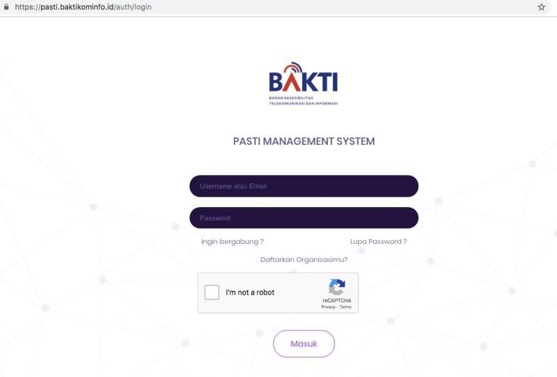 ISP KUNINGAN NEWS - BAKTI Kominfo Luncurkan Aplikasi PASTI